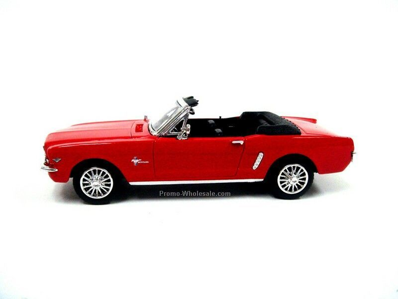 "4.5"" 1/43 Scale 1964 1/2 Ford Mustang Convertible"