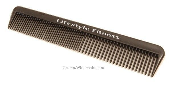 "5"" Black Pocket Comb"