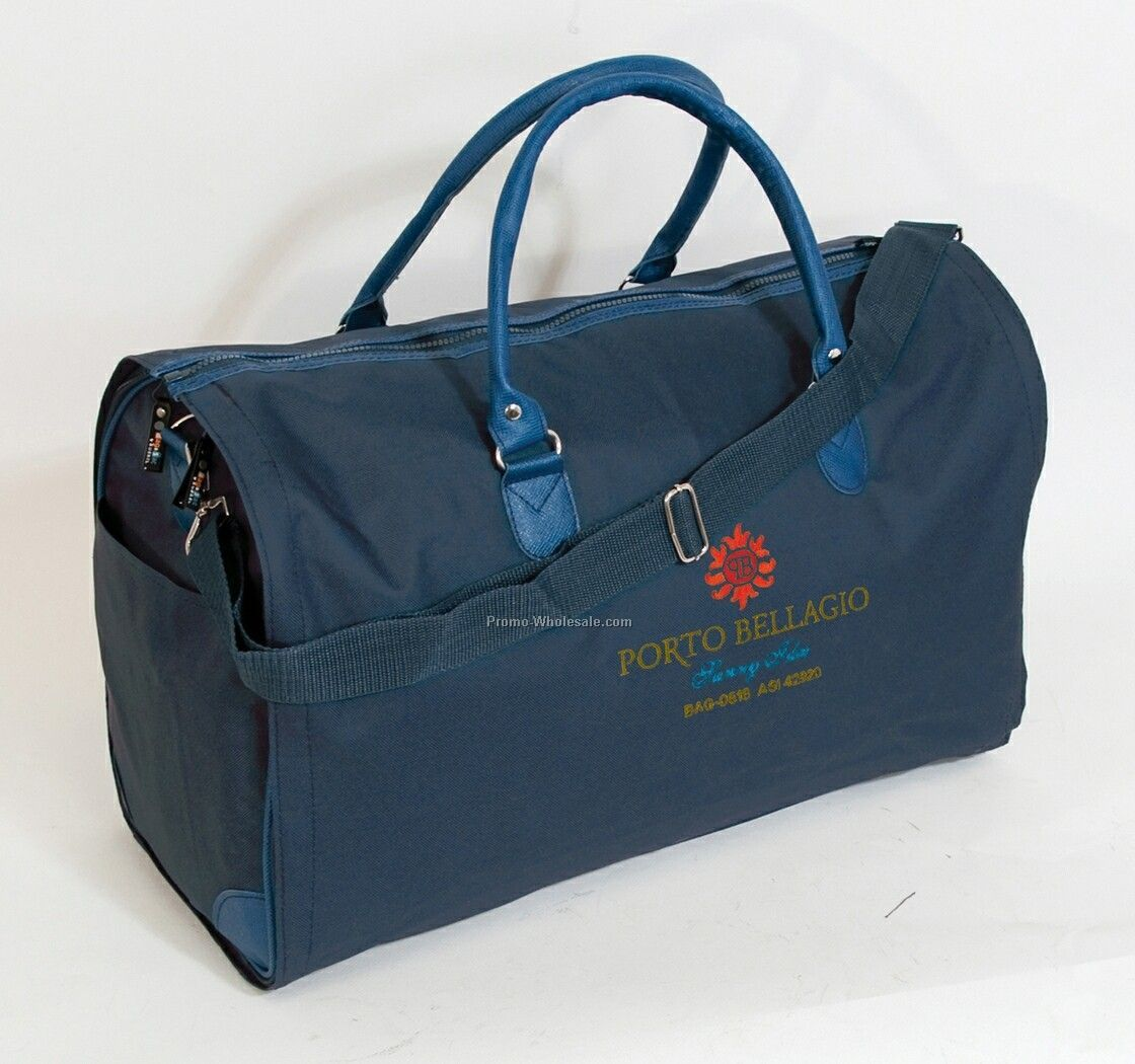 600d Polyester Transformer Garment Duffel Bag