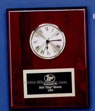 "8""x10"" Piano Finish Executive Series Clock"