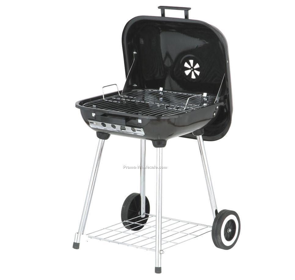 Covered Charcoal Brazier Grill