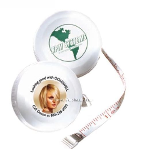 Franklin Round Tape Measure W/ Retracting Button (3 Day Shipping)