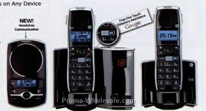 Ge Dect 6.0 Digital Cordless Phone (Single Handset)