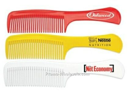 Plastic Comb W/ Handle