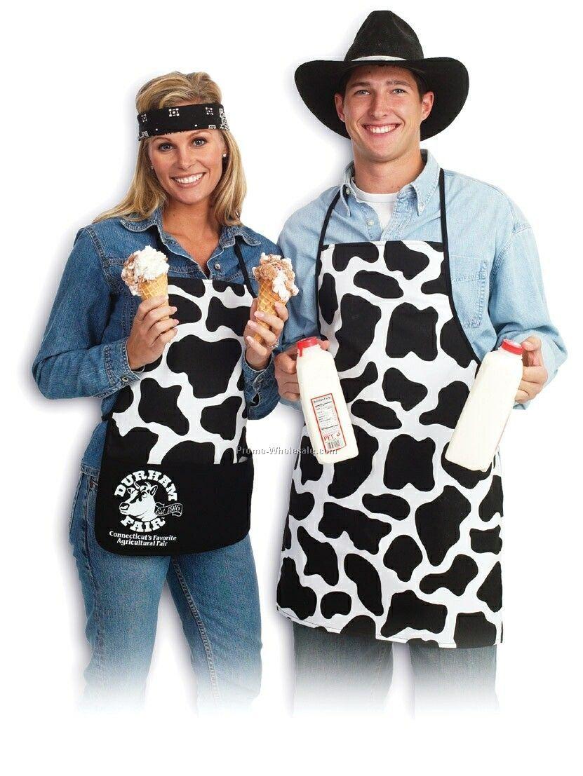 Promo Cow Print Apron (Printed)