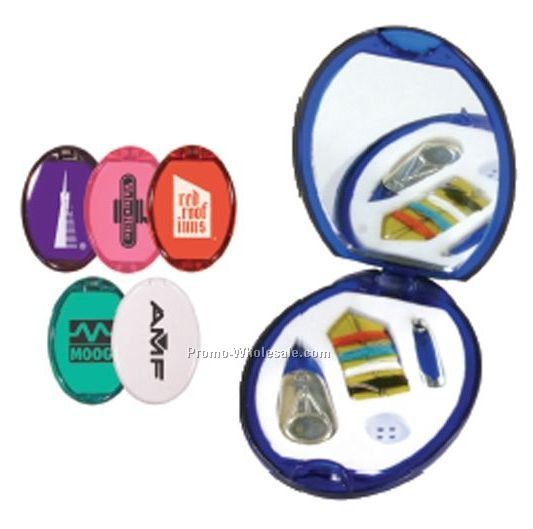 Sewing Kit With Mirror - Standard Delivery