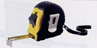 The Journeyman 10' Locking Tape Measure With Rubber Casing