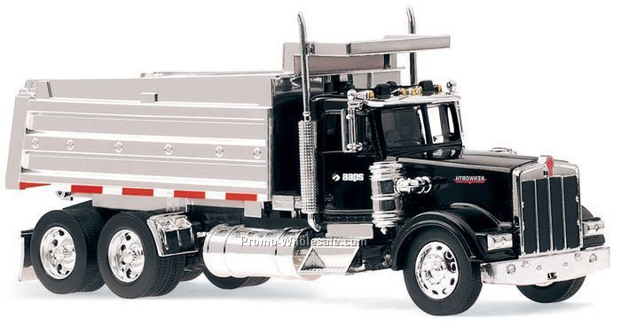 "1:32 Scale 23""x 3.75"" Die Cast Replica Kenworth Dump Truck"