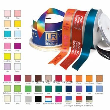 "1-5/8"" Custom Gift & Roll Ribbon - 1 Color"