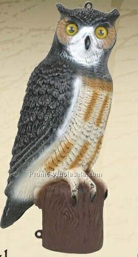 "21"" Owl Decoy"