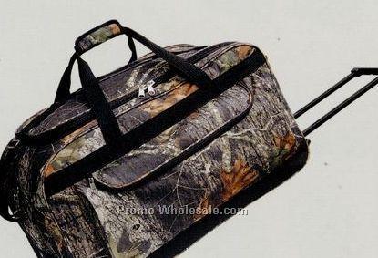 """30"""" Mossy Oak Rolling Duffel Bag"""