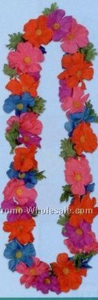 "48"" Silk 'n Petal Tropical Leis"