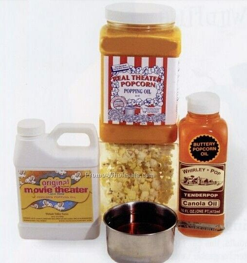 48 Oz. Real Theater Popcorn Popping Oil