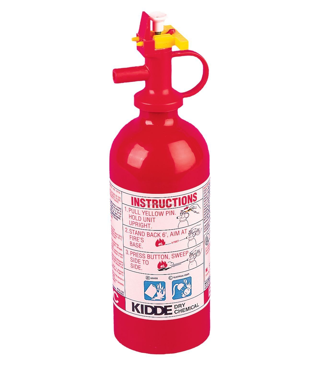 Dry Chemical Fire Extinguisher - 2bc Rating