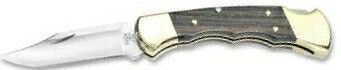 Finger Grooved Ranger Buck Knife (Laser Engraved Blade)