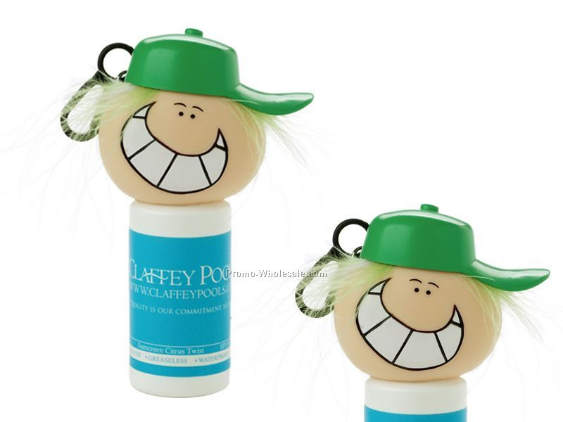 Hand Sanitizer With Goofy Head