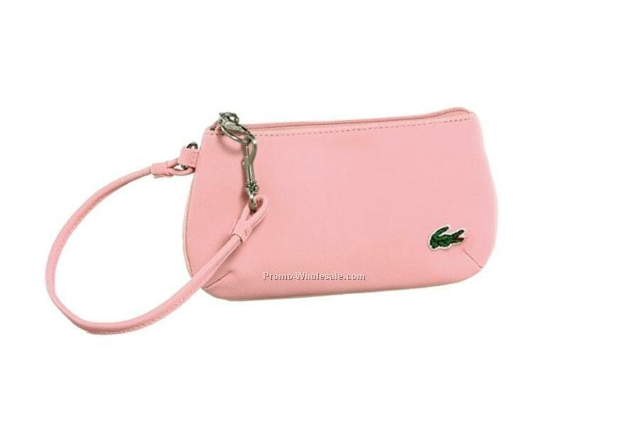 Embossed Pvc Clutch Wristlet Purse