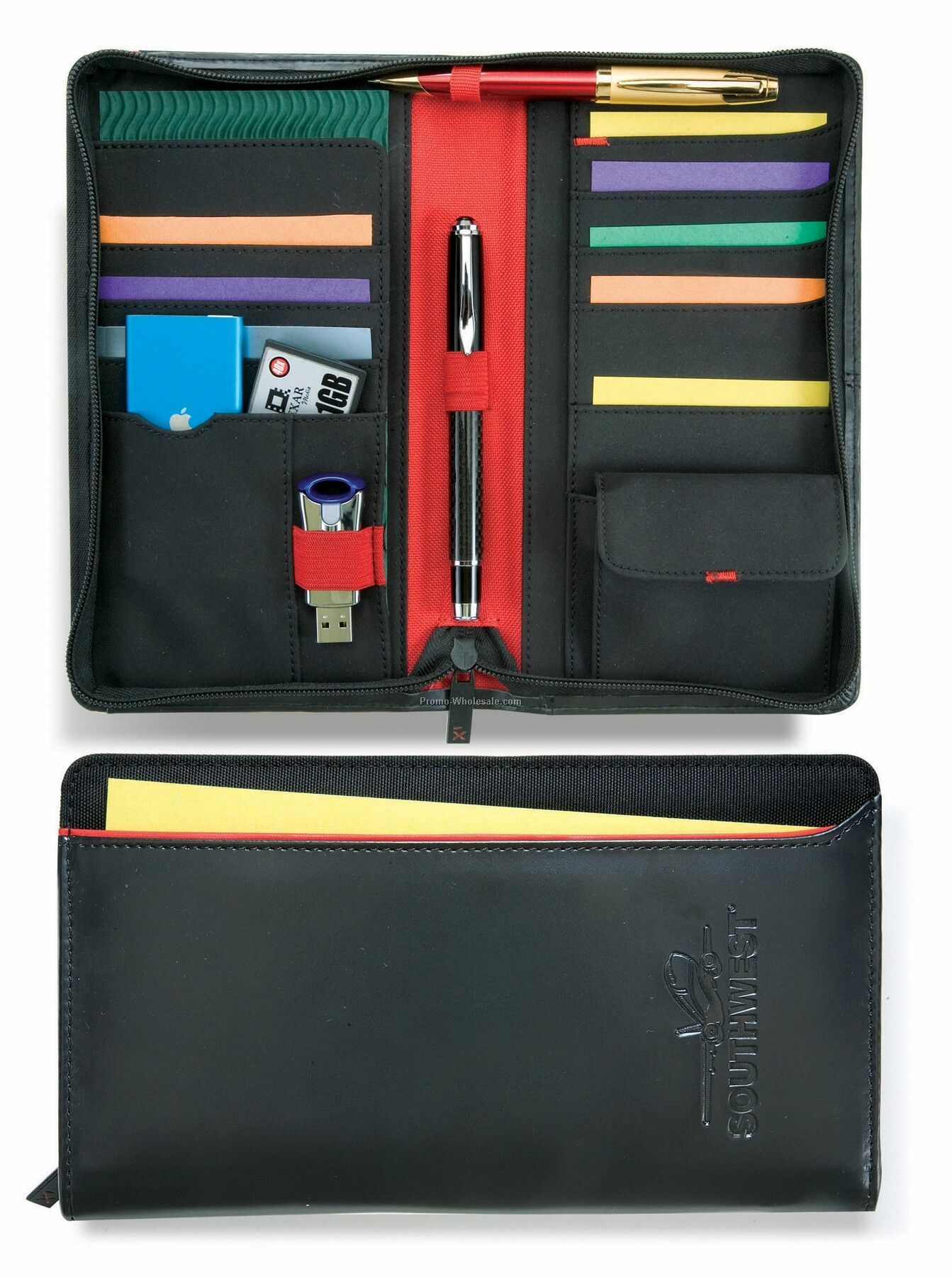 Matrix Travel Wallet - Black