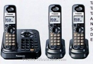 Panasonic Dect 6.0 Expandable Cordless Digital Answering Phone System