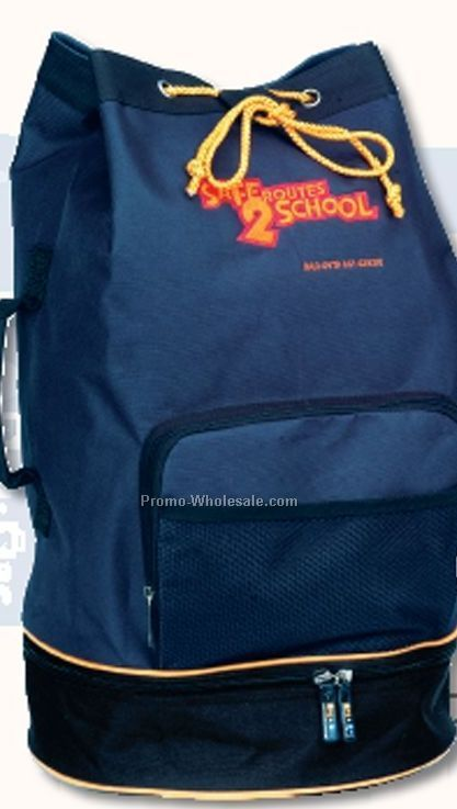 Polyester Sailor's Bag W/ Pvc Backing