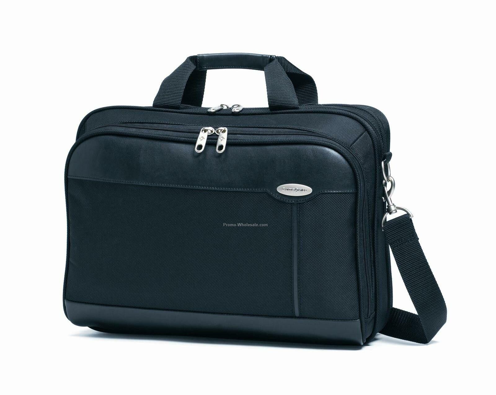 Synergy Nylon Laptop Portfolio Briefcase