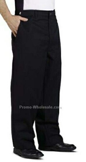Solid Black Chef Pant 52w-60w Inseam - Unfinished List