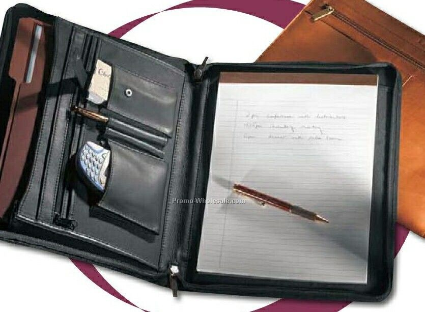 Vaqueta Napa Leather Padfolio