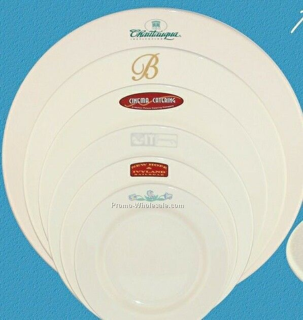 "10-3/8"" Rolled Edge Rim Chop Dinnerware"
