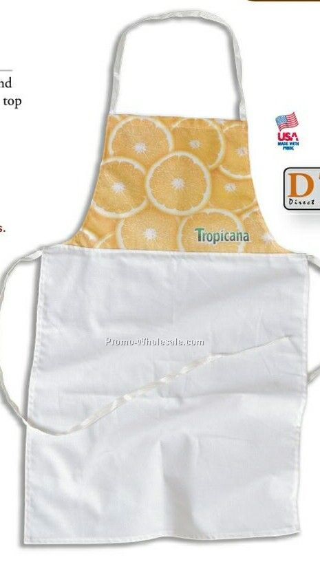 7-1/2 Oz. Cotton Canvas Custom Fit Bib Apron