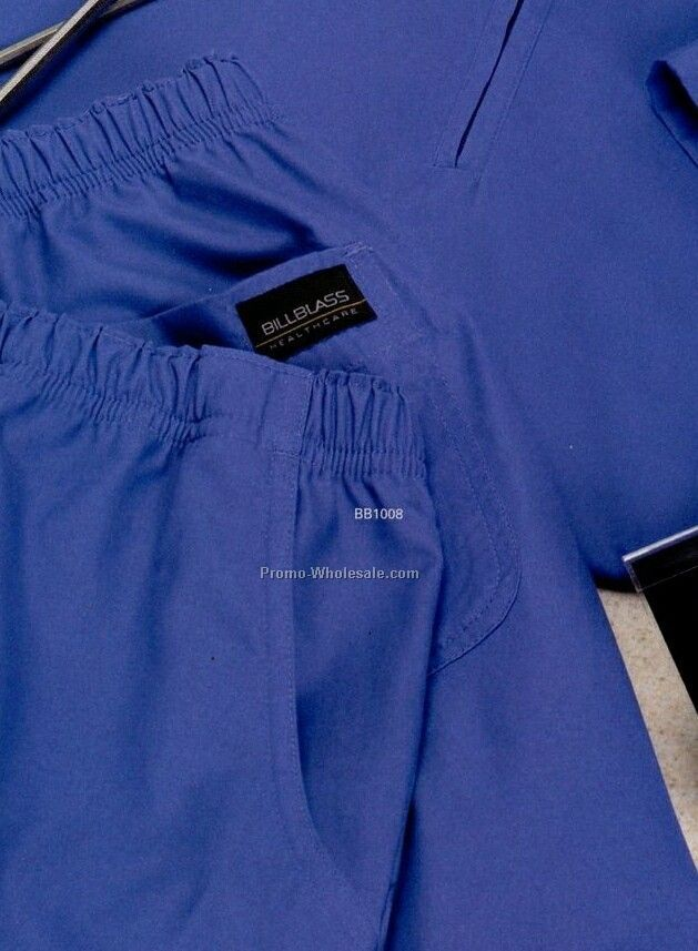 Bill Blass Unisex Elastic Waist Premium Healthcare Scrub Pants (2xl)