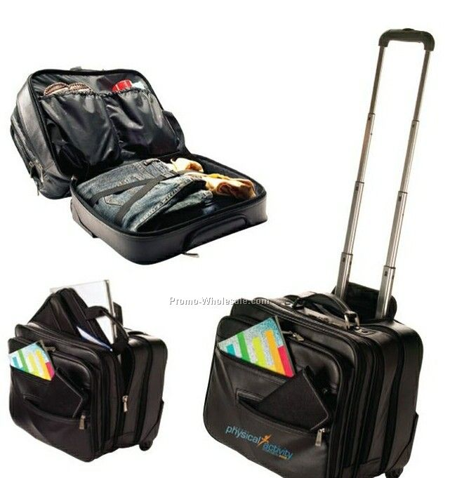 Executive Travel Briefcase (Unprinted)