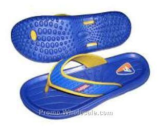Lady's Blue Slippers (Size 8-12)