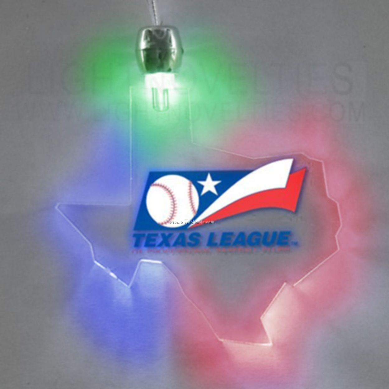 Lighted Necklace - Texas - Multi