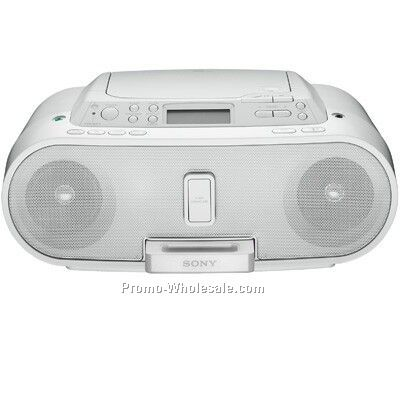 Sony Boombox With Ipod Dock