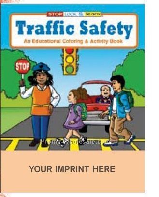 Traffic Safety Coloring Book