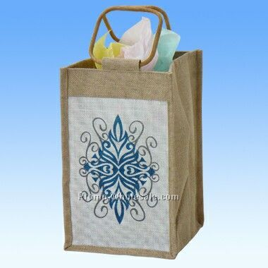 Vineyard Jute Bag