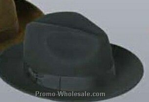 Wool Felt Crushable Water Repellent Fedora Hat (M-xl)
