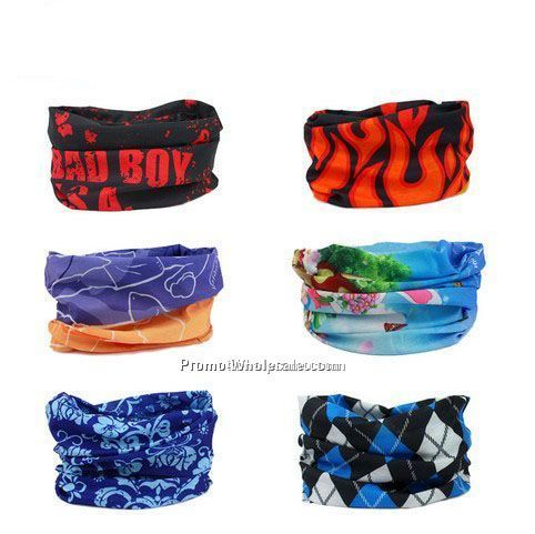 Promotional polyester multifunctional kerchief