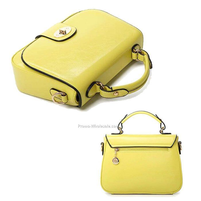 lady shoulder bag fashion handbag for girls pu leather handbag