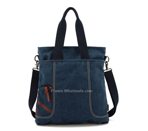 factory best canvas travel shoulder bag for men fashion men canvas bag