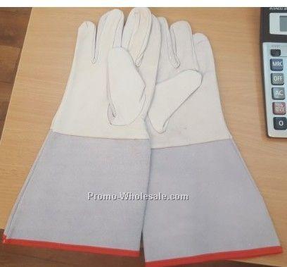 Goat skin Tig welding Gloves