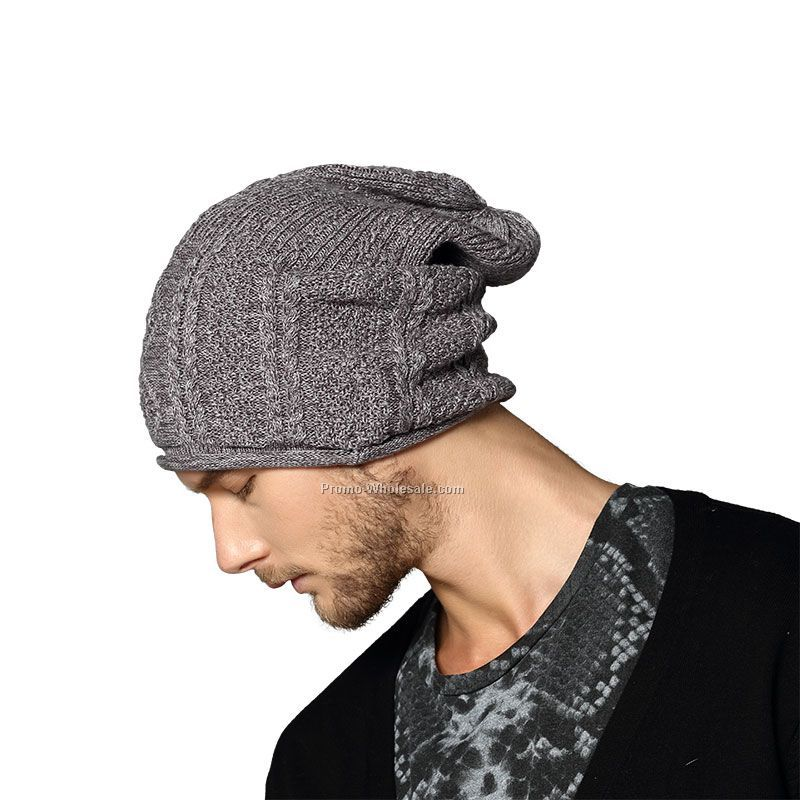 Men's slouch knitting hat