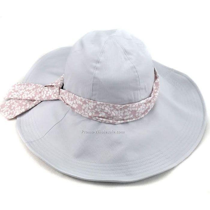 Lady summer big brim hat