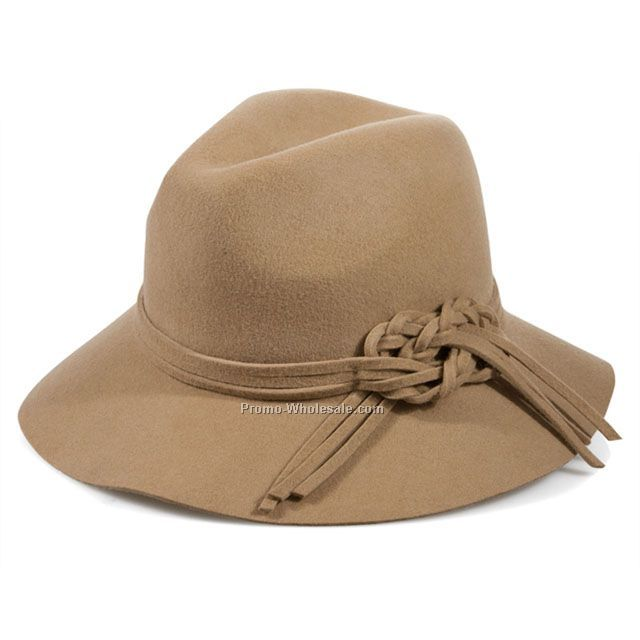 Fashion fedora with special knot bow