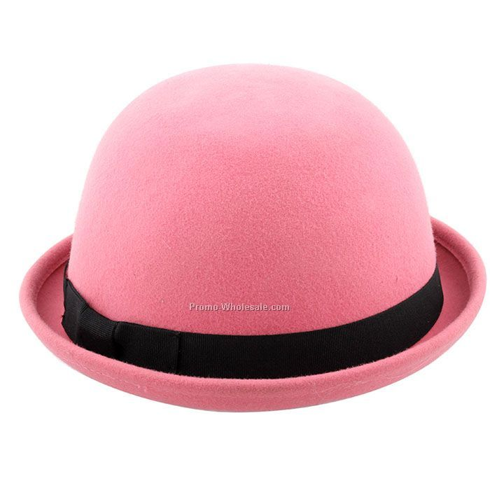 Lovely pink triby hat for girls
