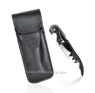 "6"" Waiter's Leather Corkscrew Holster"