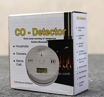 Plug In Co Alarm With Battery Backup