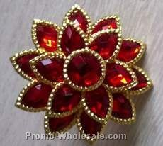 Poinsettia Napkin Rings