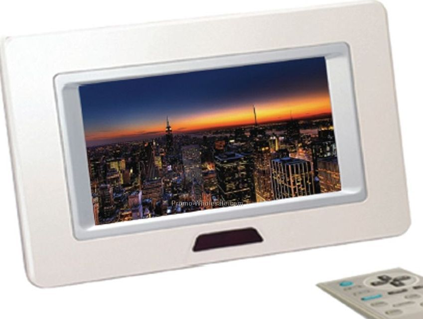 "128 Mb Digital Photo Viewer With 7"" Tft Display"