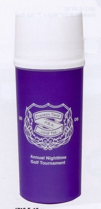 16 Oz. Foam Insulated Thermal Bottle W/ Cup